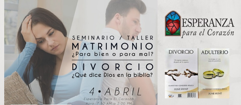 Seminario/Taller: El Matrimonio y el Divorcio.