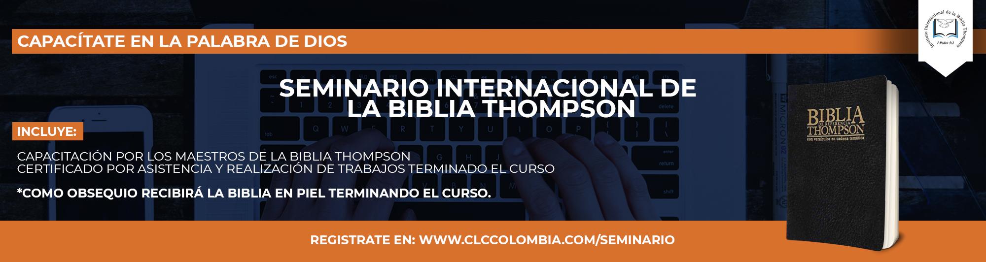 Seminario Thompson Colombia