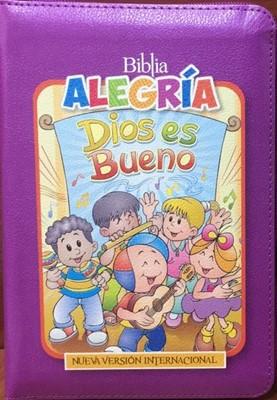 Biblia Alegria Para Niñas (Cierre) [Libro]