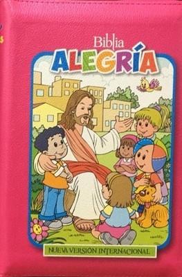 Biblia Alegría Para Niñas (Cierre) [Libro]