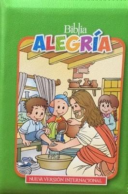 Biblia Alegria Para Niños (Cierre) [Biblia]