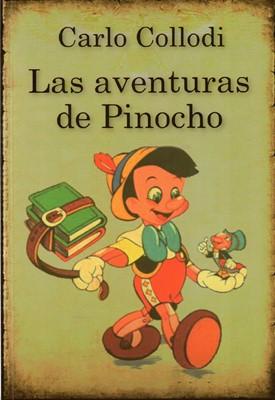 Las aventuras de pinocho (Rustico)